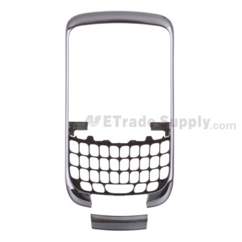 OEM BlackBerry Curve 3G 9300 Front Housing and Bottom Cover ,Silver Gray