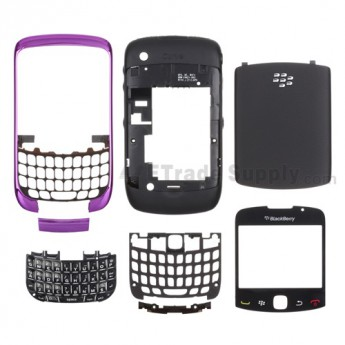OEM BlackBerry Curve 3G 9330 Complete Housing ,Dark Purple