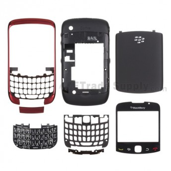 OEM BlackBerry Curve 3G 9330 Complete Housing ,Red