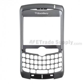 OEM BlackBerry Curve 8300, 8310, 8320 Front Housing with Lens ,Grey