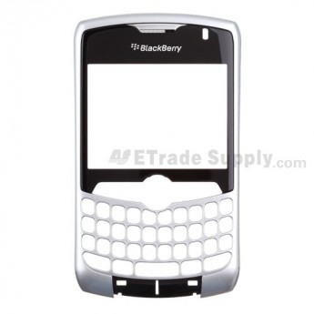 OEM BlackBerry Curve 8330 Front Housing with Lens ,Silver