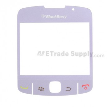 OEM BlackBerry Curve 8520, 8530 Glass Lens with Adhesive ,Light Purple