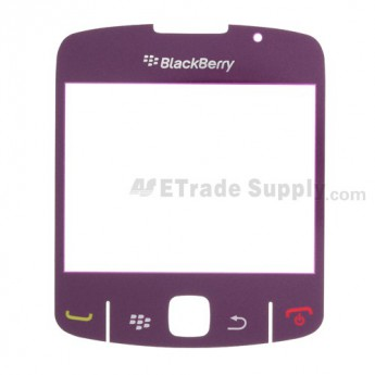 OEM BlackBerry Curve 8520, 8530 Glass Lens with Adhesive ,Purple
