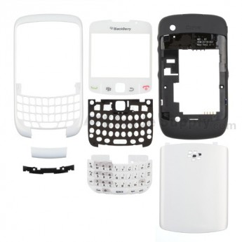 OEM BlackBerry Curve 8520 Complete Housing ,White