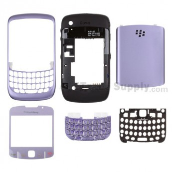 OEM BlackBerry Curve 8520 Housing ,Light Purple