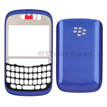 OEM BlackBerry Curve 9220 Front Housing and Battery Door ,Blue