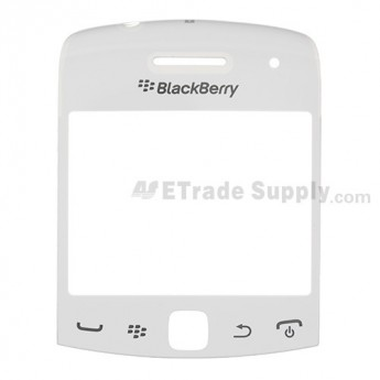 OEM BlackBerry Curve 9360, 9350, 9370 Glass Lens ,White