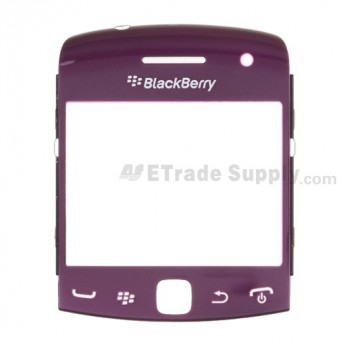 OEM BlackBerry Curve 9360, 9350, 9370 Glass Lens with Frame ,Purple