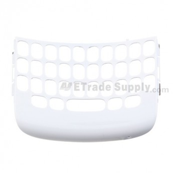 OEM BlackBerry Curve 9360, 9350, 9370 QWERTY Keypad Bezel ,White, Without Logo