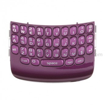 OEM BlackBerry Curve 9360, 9350, 9370 QWERTY Keypad with Bezel ,Purple