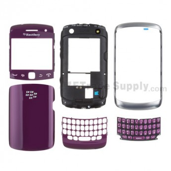 OEM BlackBerry Curve 9360 Complete Housing ,Purple