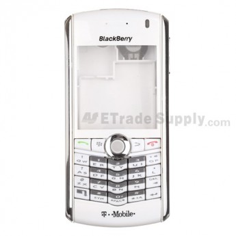 OEM BlackBerry Pearl 8100 Complete Housing (T-Mobile) ,Silver