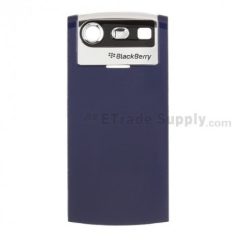 OEM BlackBerry Pearl 8110, 8120, 8130 Battery Door ,Blue