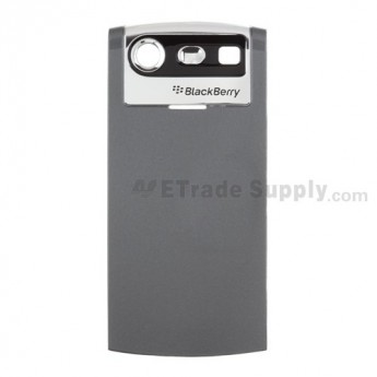 OEM BlackBerry Pearl 8110, 8120, 8130 Battery Door ,Gray