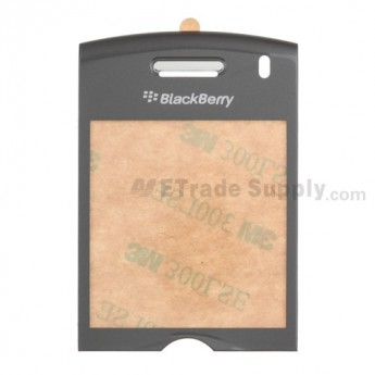 OEM BlackBerry Pearl 8110 Glass Lens with Adhesive ,Silver
