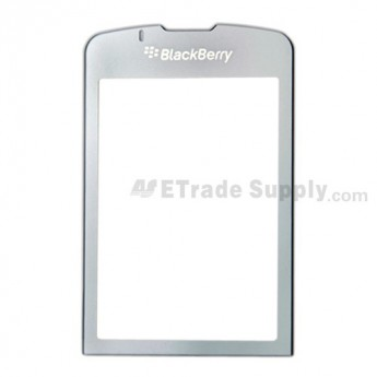 OEM BlackBerry Pearl Flip 8230 Main Glass Lens ,Gray