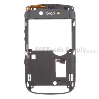 OEM BlackBerry Torch 2 9810 Rear Housing ,Gray