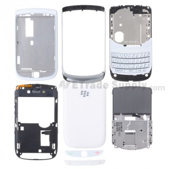 OEM BlackBerry Torch 9800 Complete Housing ,White
