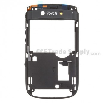 OEM BlackBerry Torch 9800 D Side Housing with Small Parts ,Black
