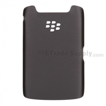 OEM BlackBerry Torch 9860, 9850 Battery Door ,Black, Without Carrier Logo