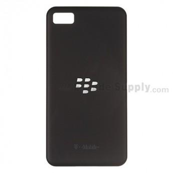 OEM BlackBerry Z10 Battery Door ,Black, With T-Mobile Logo