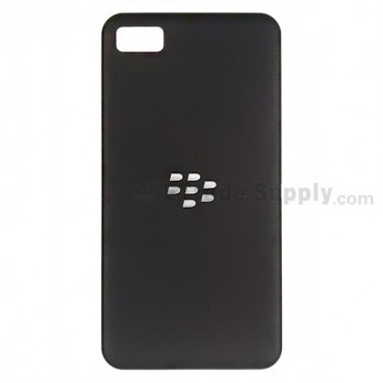OEM BlackBerry Z10 Battery Door ,Black, Without Carrier Logo