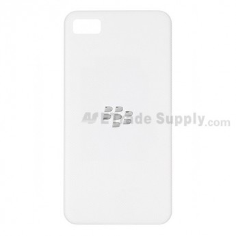 OEM BlackBerry Z10 Battery Door ,White, Without Carrier Logo