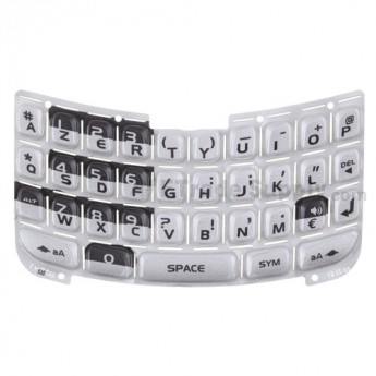 OEM Blackberry Curve 8330 AZERTY Keypad ,Silver