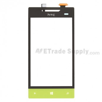 OEM HTC 8S Digitizer Touch Screen (B Stock) ,Neon Yellow