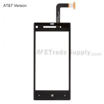 OEM HTC 8X Digitizer Touch Screen ,Without Any Logo