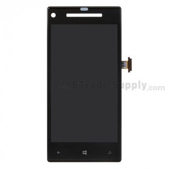 OEM HTC 8X LCD Screen and Digitizer Assembly with Light Guide ,Without Any Logo