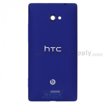 OEM HTC 8X Rear Housing ,Blue, With HTC Logo Only