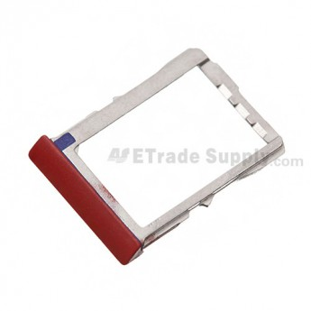 OEM HTC 8X SIM Card Tray ,Red