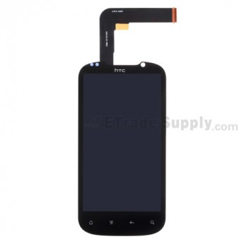 OEM HTC Amaze 4G LCD Screen and Digitizer Assembly with Light Guide ,Without Carrier Logo