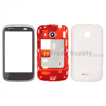 OEM HTC Desire C Complete Housing ,White