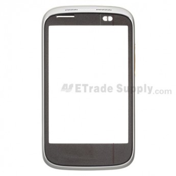 OEM HTC Desire C Front Housing ,Silver