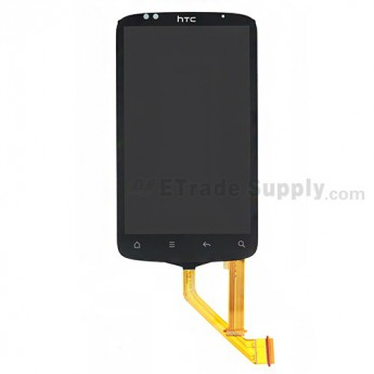 OEM HTC Desire S LCD Screen and Digitizer Assembly with Light Guide ,Narrow Flex Cable Ribbon