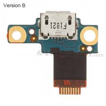 OEM HTC Droid Incredible 4G LTE Charging Port Flex Cable Ribbon ,Version B