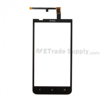 OEM HTC EVO 4G LTE Digitizer Touch Panel ,Black, Golden Wire