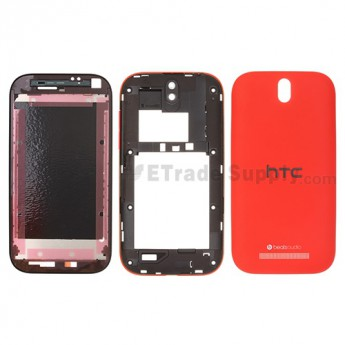 OEM HTC One SV Complete Housing ,Red