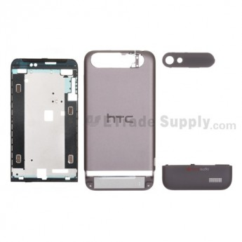 OEM HTC One V Complete Housing ,Brown