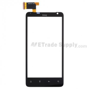OEM HTC Raider 4G Digitizer Touch Panel (HTC Logo) ,Black
