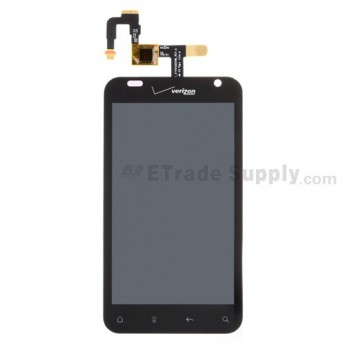 OEM HTC Rhyme LCD Screen and Digitizer Assembly ,With Verizon Logo