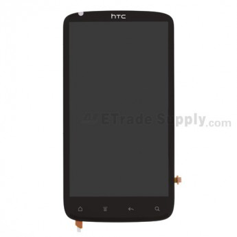 OEM HTC Sensation 4G LCD Screen and Digitizer Assembly with Microphone Flex Cable Ribbon ,Without Carrier Logo