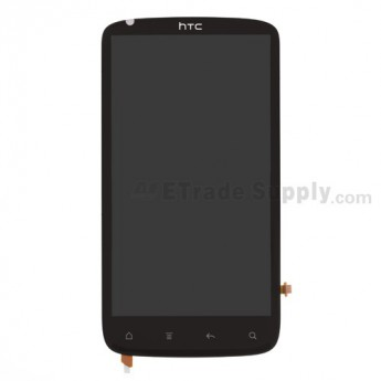 OEM HTC Sensation 4G LCD Screen and Digitizer Assembly with Microphone Flex Ribbon (B Stock) ,Without Carrier Logo