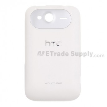 OEM HTC Wildfire S Battery Door (HTC) ,White