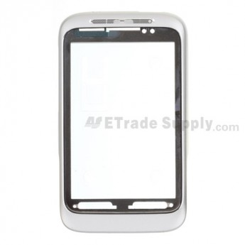 OEM HTC Wildfire S Front Housing (HTC) ,White