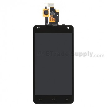 OEM LG Optimus G E975 LCD Screen and Digitizer Assembly ,Black, Without Any Logo