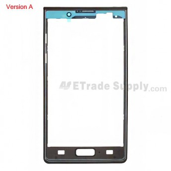 OEM LG Optimus L7 P700, P705 Front Housing ,Black, Version A