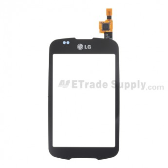 OEM LG Optimus One with Google P503 Digitizer Touch Screen ,Black, Without Carrier Logo